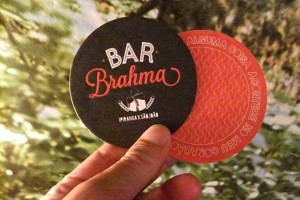 Bolachas de Chopp Bar BRAHMA